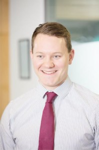 Philip Baillie, who graduated from the HLA in Accountancy in December 2016